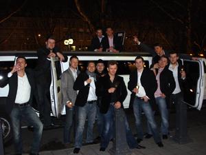 Junggesellenabschied VIP feier