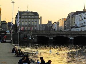 Binnenalster Junggesellenabschied Hamburg