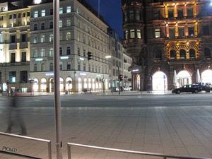Innenstadt Hamburg bei Nacht Junggesellinnenabschied