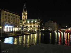 Rathaus Hamburg Junggesellinnenabschied feiern